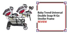Baby Trend Universal Double Snap N Go Stroller Frame