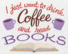 coffee and books Drink Coffee Read Books d - coffee Coffee Is Life, I Love Coffee, My Coffee, Coffee Drinks, Coffee Truck, Starbucks Coffee, Coffee Beans, Coffee Humor, Coffee Quotes