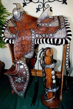 Silver Parade Saddle