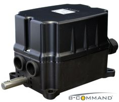 B-COMMAND Getriebeendschalter FRM Schwarz B-COMMAND Rotary Limit Switch FRM black