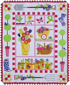 """Amy Bradley Designs: New """"Garden Quilt"""" Pattern Give-a-way"""