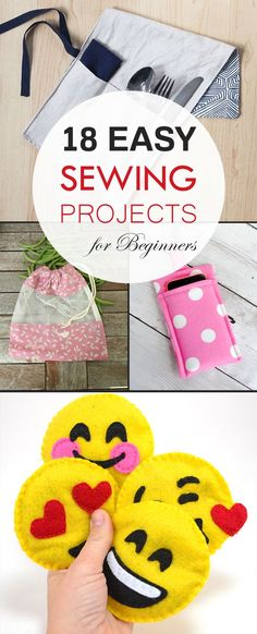 18 Easy Sewing Projects for Beginners →                                                                                                                                                                                 More