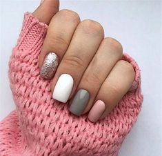 In seek out some nail designs and ideas for your nails? Here is our list of must-try coffin acrylic nails for modern women. Square Acrylic Nails, Best Acrylic Nails, Square Nails, Acrylic Nail Designs, Nail Art Designs, White Nails, Pink Nails, Hair And Nails, My Nails