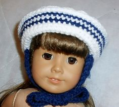 """Fits all dolls with a 12"""" head circumference."""