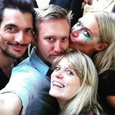 #DavidGandy and fans at #HouseFestival in Marble Hill Park today  || 02/07/15