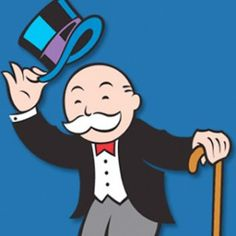 Zachary Bogar 2/3: The Monopoly Guy is a great iconic logo for the Monopoly Board game. He looks great and seems to be a nice character. It is a great animated character with smooth lines which are used to give the character definition.