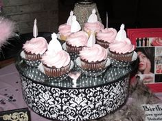 Cupcakes & Cocktails Birthday Party - by Red Carpet Ready Red Carpet Party, Red Carpet Ready, Cocktails, Cupcakes, Party Ideas, Decorating, Birthday, Desserts, Food