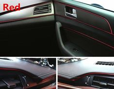 Buy Online Car Interior Decoration Moulding 5m For Hyundai Solaris Tucson 2016 I30 Ix35 I20 Accent Santa Fe Car Interior Decor Car Interior Interior Decorating