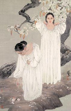 Blog of an Art Admirer: He Jiaying, Contemporary Chinese artist