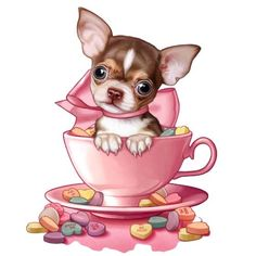 Cute Animals Images, Funny Animals, Cross Stitch Games, French Bulldog Art, Cute Chihuahua, Disney Drawings, Cute Illustration, Animation, Clipart