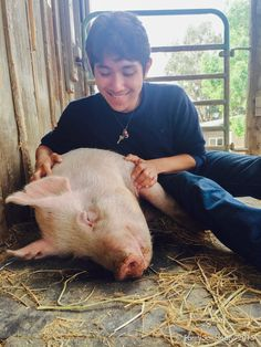 Compassionate Teen Saves Pig Friend From Slaughter