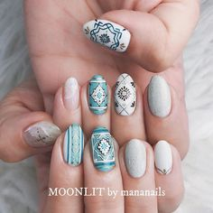 Nail art Christmas - the festive spirit on the nails. Over 70 creative ideas and tutorials - My Nails Nail Design Spring, Fall Nail Art Designs, Short Nail Designs, Cute Nails, Pretty Nails, Beauty And Fashion, Prom Nails, Short Nails, Halloween Nails
