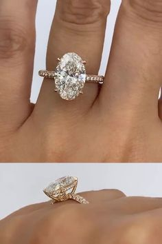 Oval Halo Engagement Ring, Elegant Engagement Rings, Gemstone Engagement Rings, Engagement Ring Styles, Types Of Wedding Rings, Gold Wedding Rings, Elegant Wedding Rings, Types Of Rings, Wedding Bands