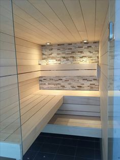 35 The Best Home Sauna Design Ideas You Definitely Like - No matter what you're shopping for, it helps to know all of your options. A home sauna is certainly no different. There are at least different options. Home Spa, Home, Home Spa Room, Cheap Diy, Sauna Design, Bathrooms Remodel, Bathroom Design, Luxury Pools Indoor, Spa Rooms