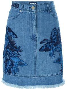 Compre House Of Holland Saia jeans com bordado em from the world's best independent boutiques at farfetch.com. Compre em 400 boutiques em um único endereço.