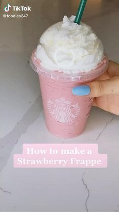 Fun Baking Recipes, Dessert Recipes, Healthy Recipes, Fall Recipes, Healthy Food, Healthy Eating, Fruit Smoothie Recipes, Smoothie Drinks, Yummy Drinks