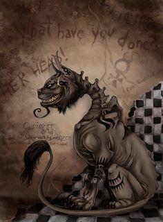 Alice Madness Returns - Cheshire Cat by LadyFiszi.deviantart.com on @DeviantArt