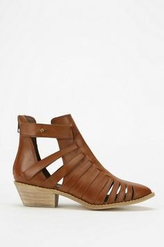 Ecote Heeled Huarache Ankle Boot #urbanoutfitters