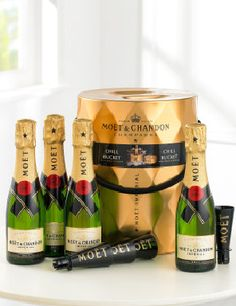 CUTE! Interflora ready made quick drink moet!