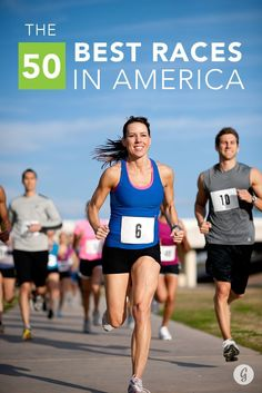 Need a training goal to keep you motivated? Go for the gold in one of these 50 best races in America.