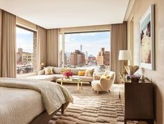 Bedroom by Dufner Heighes in New York, NY