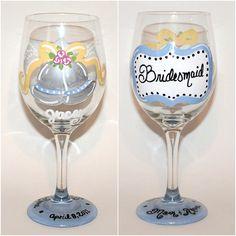 Personalised Engraved Wine Orchestra Goblet 10.5oz Wedding Bridesmaid Birthday