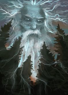 Ukko (English: Old man) is the god of sky and thunder, and the leading deity mentioned within The Kalevala. His character corresponds to Thor and Zeus. John Martin Crawford wrote that the name may be related the obsolete Hungarian word for an old man