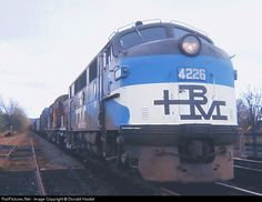 The same designer that branded the New Haven also did the Boston & Maine RR in the 1960s