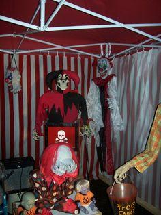 Carnevil Halloween 2012 Ideas Pinterest Halloween Clown