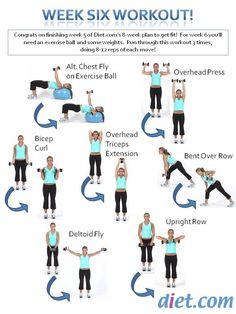 spring fitness challenge week 6