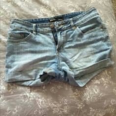 Bdg high rise shorts Size 27, high rise. Super cute, worn quite a bit but in great condition. No rips tears or stains. Make offers! :) BDG Jeans
