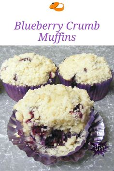 The BEST crumb top muffins ever! Delicious for breakfast with fresh, hot coffee.
