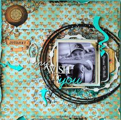 2Crafty Chipboard - Two Layouts for July with Rachael Funnell