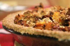 side of butternut squash pie