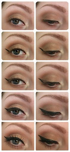 Learn how to create the perfect cat eye with precision using this tutorial! Get the Old Hollywood Glamour look with makeup from Beauty.com.