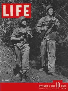 """American Soldiers - Life Magazine, September 6, 1943 issue - Visit http://www.oldlifemagazines.com/the-1940s/1943/september-06-1943-life-magazine.html?q to purchase this issue of Life Magazine. Enter """"pinterest"""" for a 12% discount at checkout - American Soldiers"""