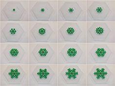 How to make a 3-D Perler bead Christmas tree