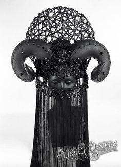 Ram Horn Headdress H