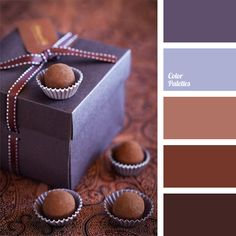 Today, the color of chocolate and cinnamon is extremely popular among designers. Brown shades are used to decorate studies, libraries, halls and living rooms. Combination of brown with lilac and purple is very peculiar and usually used for bedrooms, kitchens and dining rooms.