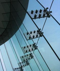 Glass Curtain Wall  #Glass Pinned by www.modlar.com