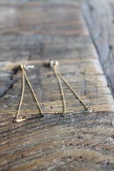 Swing Earrings    Reclaimed Metals