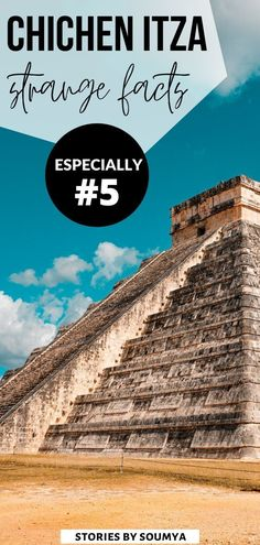 Planning to visit the ancient ruins of Chichen Itza in Mexico? Do you know what will make your trip to Chichen Itza even more memorable? These 11 insanely unbelievable facts about the Mayan ruins of Chichen Itza. Especially #5! Find out what is it. Chichen Itza Mexico Mayan Ruins | Chichen Itza Wonders of the World | Chichen Itza El Castillo #CultureTravelWithSoumya #ChichenItza #Mexico #Yucatan Costa Rica Travel, Peru Travel, Mexico Travel, Travel Usa, South America Travel, North America, Central America, Mexico Destinations, Travel Destinations