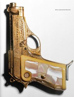 Elvis' gold-plated Beretta