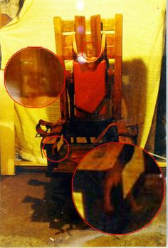 Engineer Fred Leuchter was hired by the state of Tennessee to evaluate, modify and update its electric chair, which it used for executions. The heavy oak chair was made from the wood that was once a part of the state's old gallows. More paranormal locations at: http://www.panicd.com