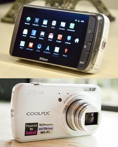 Fancy - Nikon Coolpix S800c Android Camera