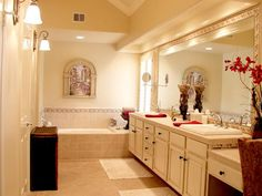 NUETRAL BATHROOM HAS TIMELESS APPEAL