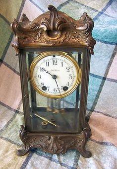 Seth Thomas #11 Empire Crystal Regulator Clock