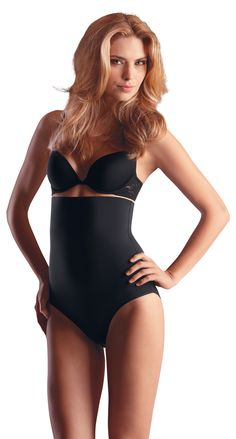 Shapewear, high waist brief Style # 6606