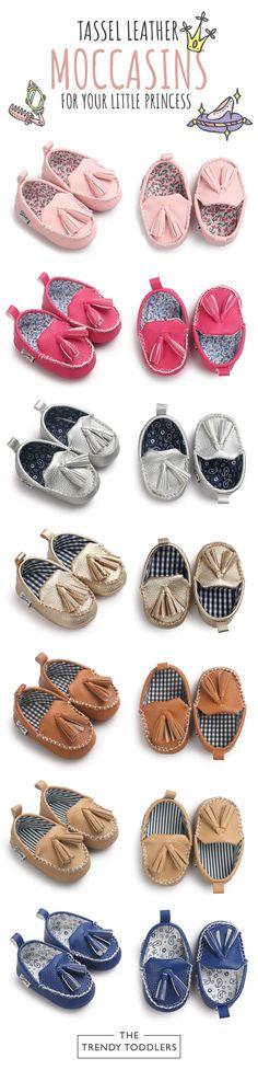 Konfetti Baby Girls Multi Stripes Moccasin