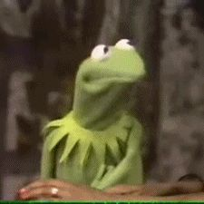 He has a range of emotions that other Hollywood frogs only WISHED they could express. | 18 Reasons Why Kermit The Frog Is Irreplaceable. My favorite Kermit face
